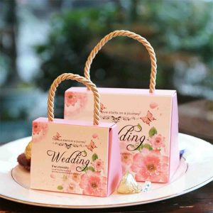 Luxury Handbags Wedding Favours Handbag Candy Sweets Party Gift Boxes