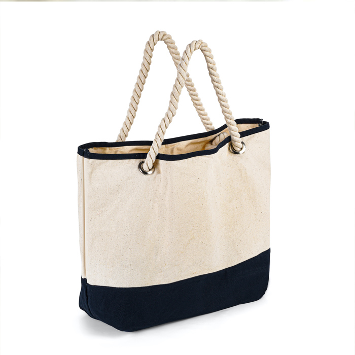 Cotton Tote Bag With Rope Handle