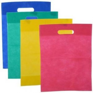 Swadesh Non Woven Shopping Bags Pack Of 100 Grocery Bags