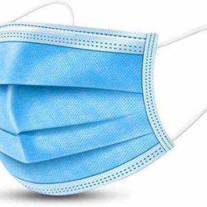 Blue India 3 Layer Protective Face Mask