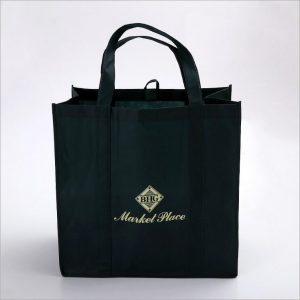 Custom Print Logo Reusable Recycle Packing Shopping Bags Non Woven Carry Bag