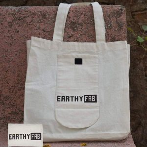 Cotton Grocery Shopping Bag Large (Foldable)