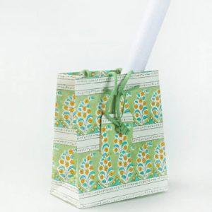 Viridis Printed Paper Bag Medium